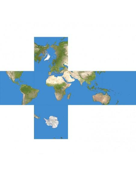 Casse-tête v-cube 2 planète terre