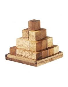 Casse tête en bois pyramide Inca