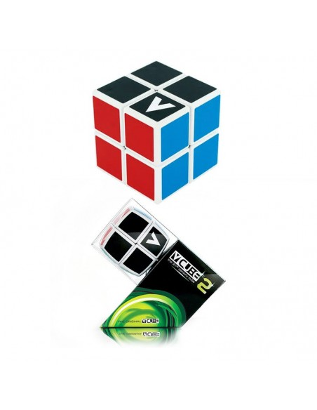 casse tête v-cube 2x2 plat