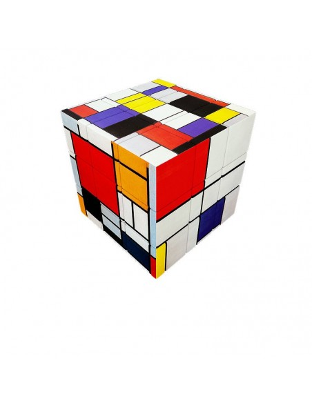 Casse-tête v-cube 3x3x Mondrian art emotions