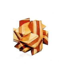casse tête en bambou entelacs