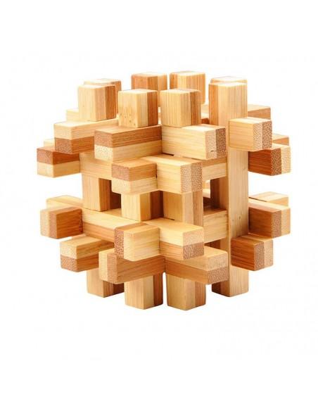 casse-tête en bambou double frame