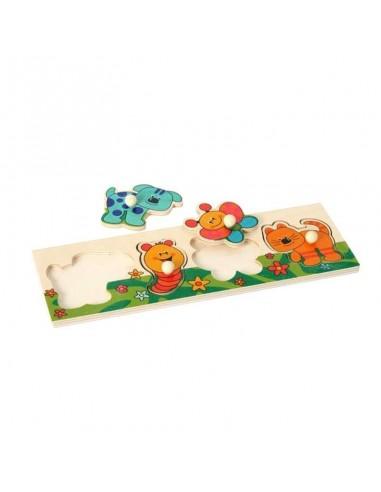 Puzzle enfants 4 animaux