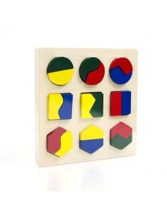 Puzzle en bois Bino premier age