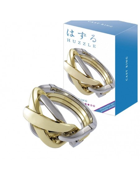 Casse-tête en métal Hanayama Cast Ring