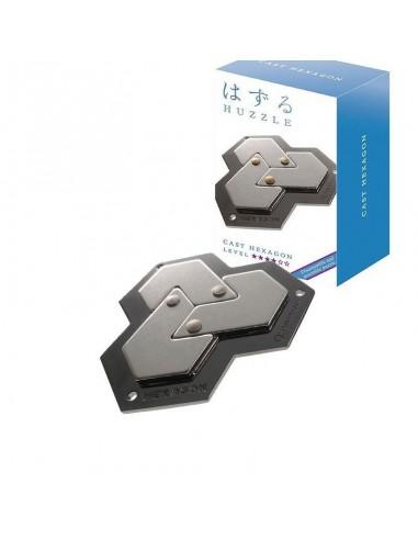 Casse-tête en métal Hanayama Cast Hexagon