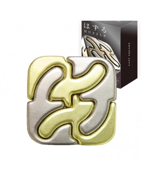 Casse-tête en métal Hanayama Cast Square