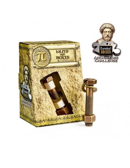 Archimedes challenge  Nuts and Bolts casse-tête en métal