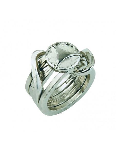 Casse-tête en métal Hanyama Cast Ring 2