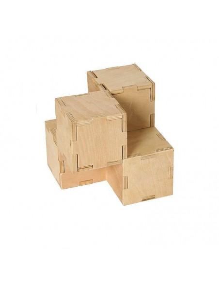 Casse-tête en bois Cubiforms