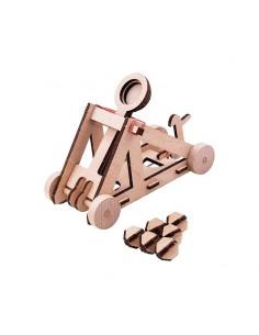 puzzle en bois catapulte