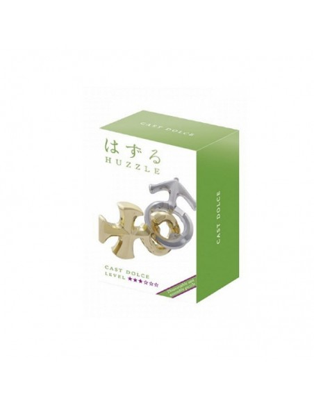 Casse-tête en métal Hanayama Cast dolce