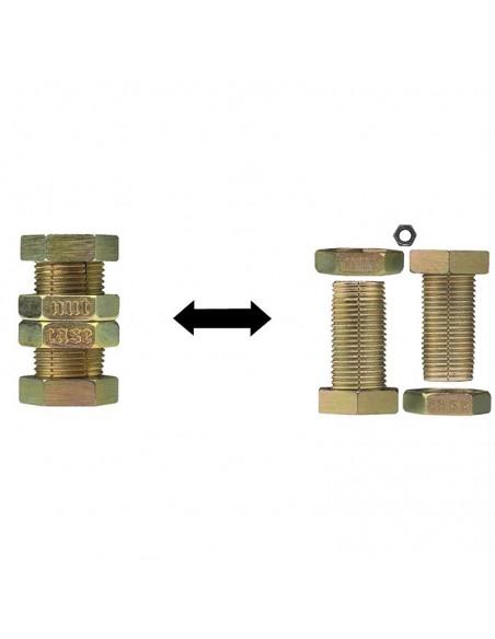 Casse-tête en métal Hanayama Cast Nutcase