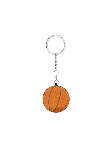 puzzle 3d porte clé ballon de basket