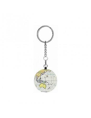 Porte clé puzzle sphère globe terrestre