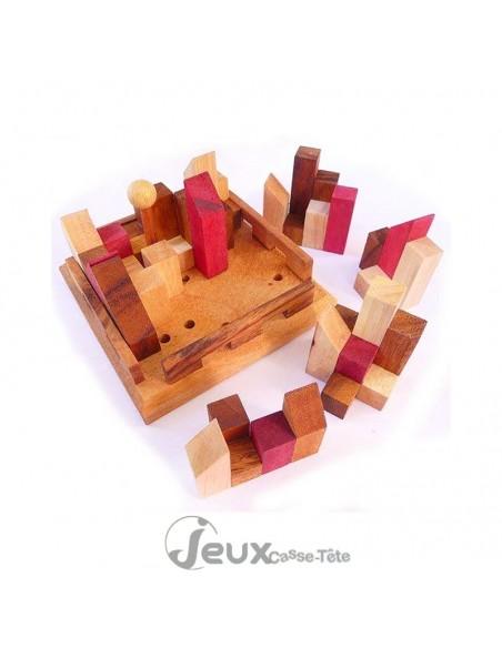 casse-tête en bois city puzzle
