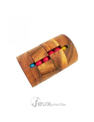 casse-tête en bois tour de billes