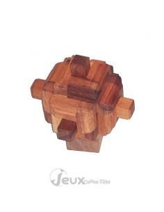 casse-tête en bois Satellite