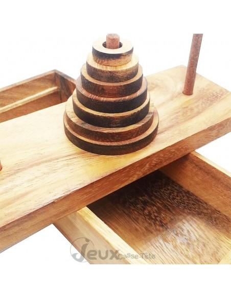 casse-tête en bois tour de Hanoi