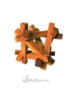 AJ ou Sapporo casse-tête en bois 12 pièces