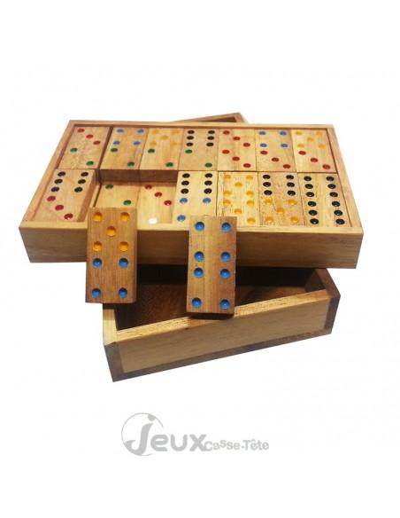 Le jeu du Domino en bois