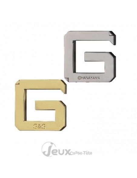 Casse-tête en métal Hanayama Cast G&G