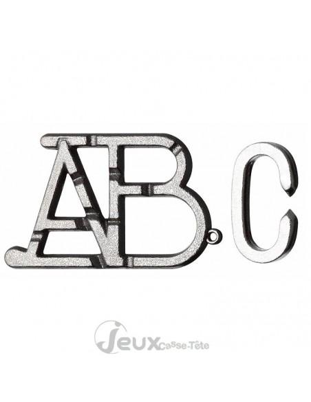 Casse-tête en métal hanayama cast ABC