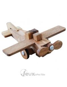 casse-tête en bois l'avion