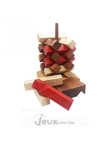 casse-tête en bois harmonie