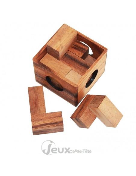 Casse-tête en bois cube puzzle