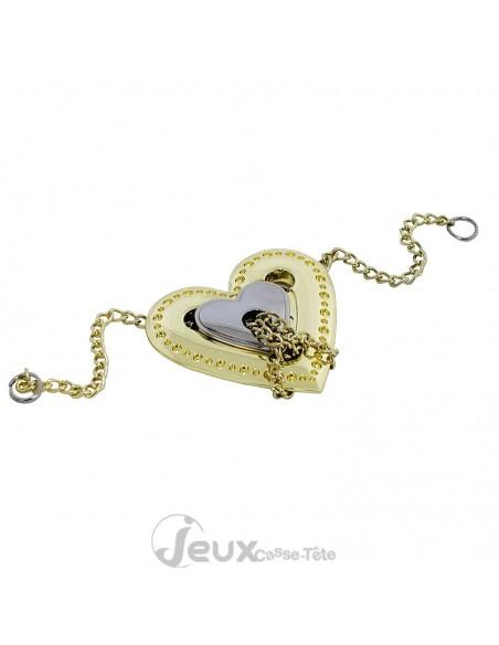 Casse-tête en métal Hanayama Cast Heart