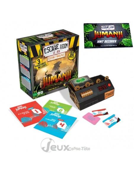 Escape room le jeu Jumanji