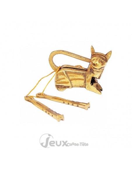 casse-tête en métal golden cat