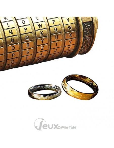 casse-tête métal Cryptex Da Vinci Code