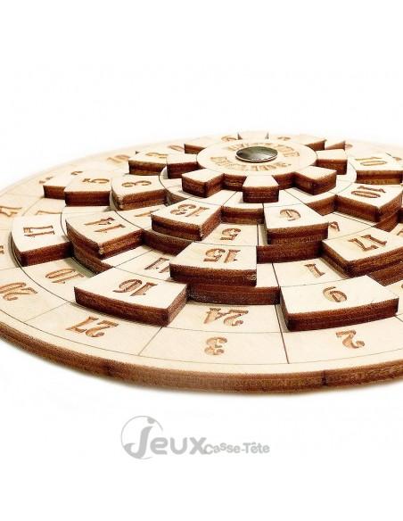 casse-tête en bois Euclide