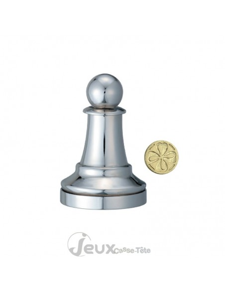 Chess puzzle Pawn collection Hanayama