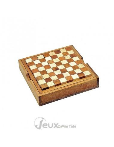 jeu de réflexion en bois pentamini
