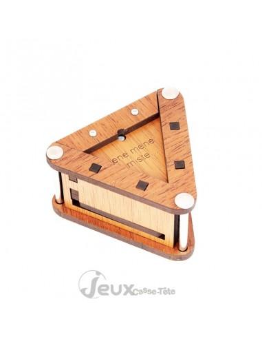 Boîte secrète en bois Ene Mene Miste JC constantin