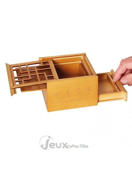 Boite secrète casse-tête en bambou