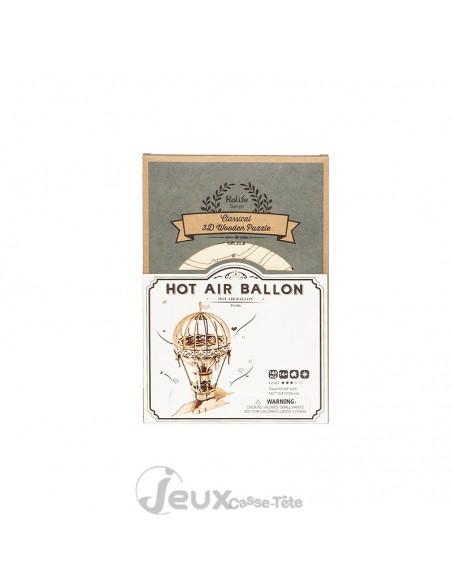 Puzzle 3d Hot Air Ballon Montgolfière