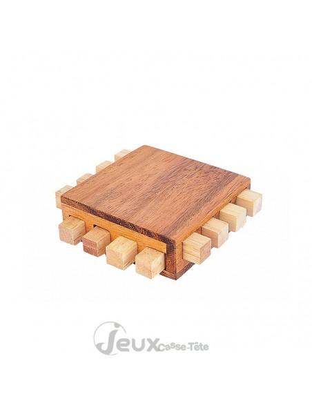 Casse-tête en bois le processeur