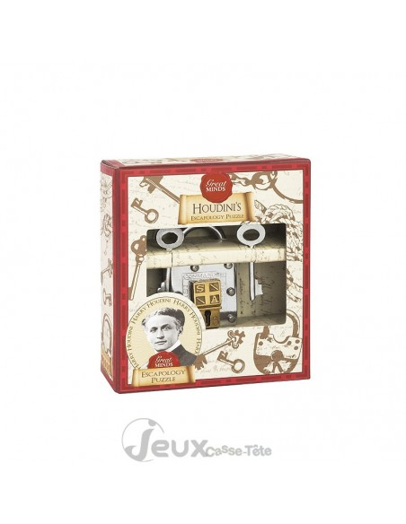 Casse-tête métal cadenas Houdini