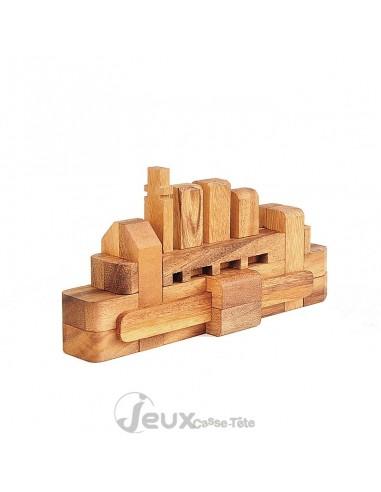 Casse-tête en bois Le bateau 16 pièces