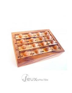 Casse-tête en bois Commode 16 tiroirs différents à ranger