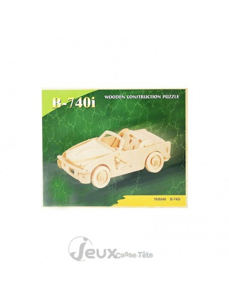 Puzzle 3d  en bois BMW 740I
