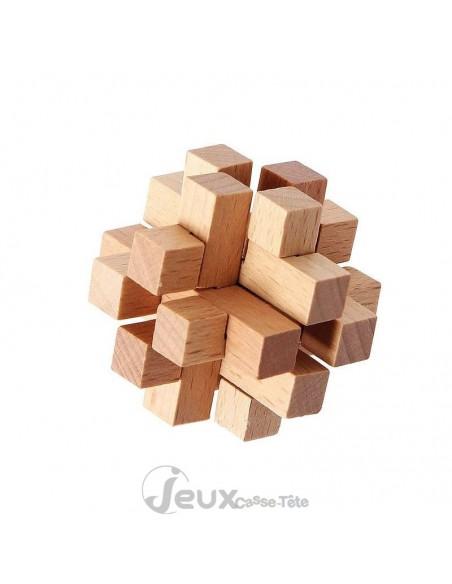 coffret 4 casse-tête en bois niveau extrême