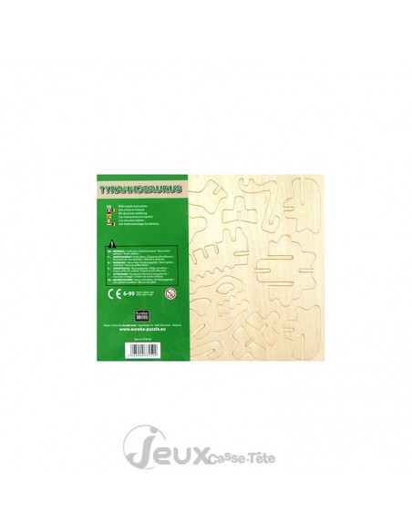 TYRANNOSAURE puzzle 3d