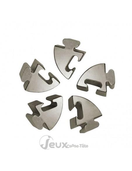 Casse-tête en métal Hanayama Cast Spiral