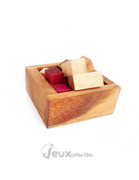 Casse-tête en bois Déménagé facile