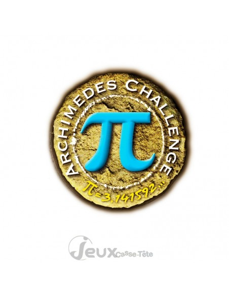 Archimedes challenge Star casse-tête en métal